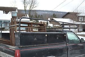 Ladder Rack and Side Tool Boxes for Truck
