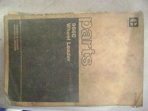 Caterpillar Cat 966C Wheel Loader Parts Book Manual Catalog 76J6389 76J9655