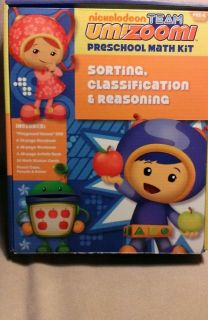 Team Umizoomi Preschool Math Kit Sorting Classification Reasoning