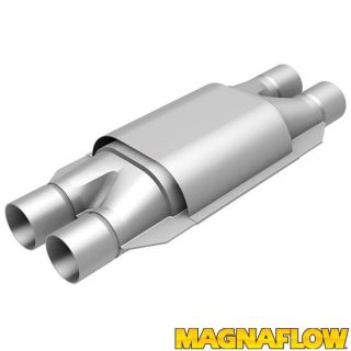 "Magnaflow 94008 Universal High Flow Catalytic Converter Oval 2"" in Out"