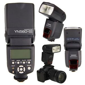 YONGNUO YN560 III Wireless Speedlite Flash for Canon Nikon Camera 519890690340