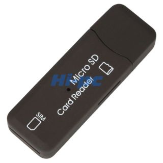 USB Micro SD Sim Card Reader Copy Backup GSM CDMA 3G 659556469894