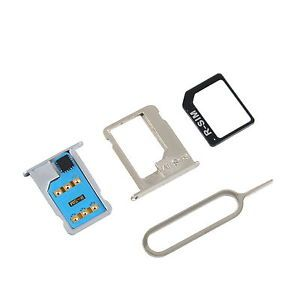New R Sim 8 Classic Unlock Sim Card Nano Micro Sim Adapter for iPhone 4S 5 HS