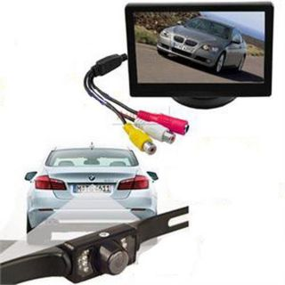 "4 3"" Car TFT LCD Rearview Monitor E322 Car Backup Camera System Camera New"