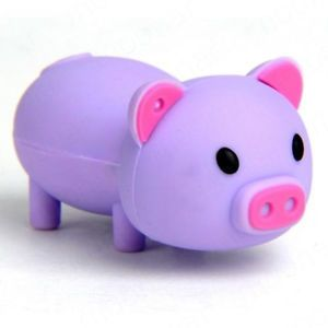 New Cute Purple Pig 8GB USB 2 0 Memory Stick Flash Pen Drive E13