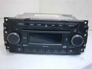 05 07 Jeep Grand Cherokee 6 Disc CD Radio Player