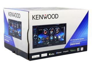 "Kenwood DNX570HD 6 1"" Car GPS Navigation DVD Receiver HD Radio Backup Camera"