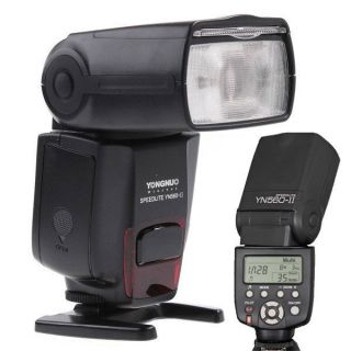 Flash Speedlite YN 560II YN560II for Canon XS T1i XSi XTi 7D 5D II SLR Camera 519890690418