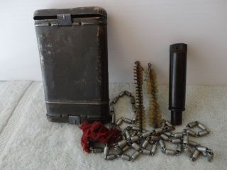 WWII Gun German Cleaning Kit K57