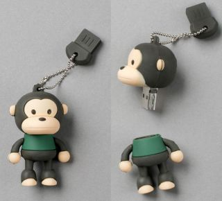 """Monkey"" USB Flash Memory Drive Stick Pen Thumb 8GB"