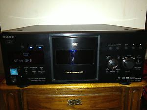 Sony 400 Disc DVD Player DVP CX995V Multiple Disc DVD Home Theater