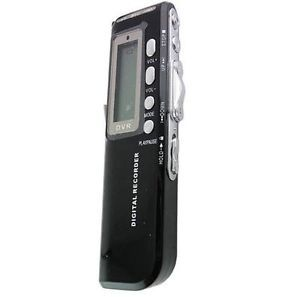 LCD Display 8GB USB 650Hr Digital Voice Telephone Recorder Dictaphone  Player