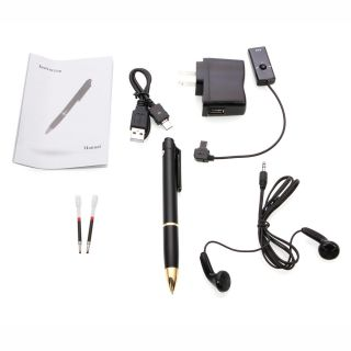 Brand New High Quality USB 48hrs 4GB Digital Voice Recorder Pen Black