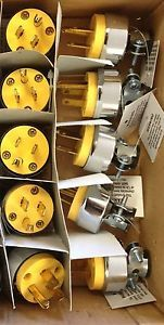 10 Male Extension Cord Replacement Ends 15 Amp Electrical Power Plug Repair