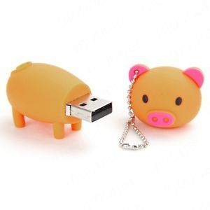 1 Pcs 8GB USB 2 0 Pig Style Flash Memory Thumb Stick Drive Flash Drive U Disk