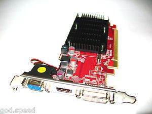 ATI Radeon HD 5450 512MB PCI Express PCI E x16 DVI HDMI VGA Video Graphics Card