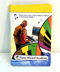 Piano Wizard Academy 45 Lesson Learn to Play Piano Computer Software