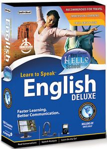 Learn to Speak English 10 Deluxe by Individual PC Software Brand New SEALED Box
