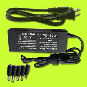 US 5TIPS 90W Laptop Universal Power Supply Cord AC Adapter Charger for Notebook