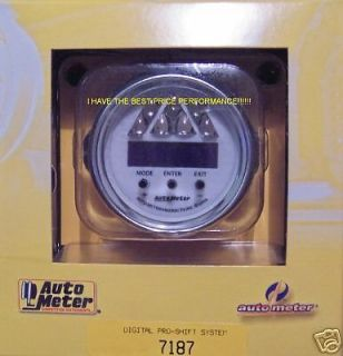 Details about AutoMeter 2 1/16 C2 DIGITAL PRO SHIFT LIGHT LITE GAUGE
