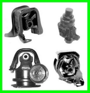 95 97 98 Honda Odyssey Engine Motor Mount Kit 4pc