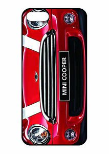New Mini Cooper Red Car Graphic Case for Apple iPhone 5 or 4S 4