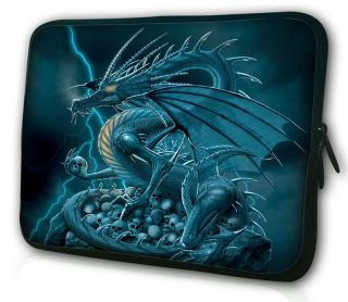 "Dragon 10"" 10 1"" 10 2"" Tablet PC Mini Netbook Laptop Sleeve Bag Case Cover Pouch"
