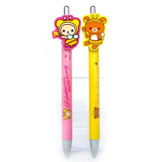 Rilakkuma リラックマ Office School Supplies Mechanical Pencil Set Pink Yellow Kids