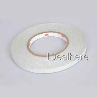White 1CMX46M DIY Decor Safety Reflective Warning Roll Strip Tape for Car Truck