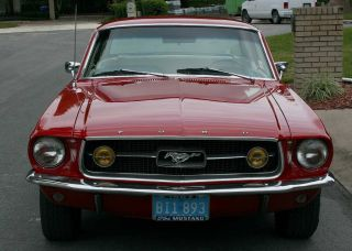 Beautiful Real GT Optioned Marti Confirmed 1967 Ford Mustang GT Coupe 12K MI