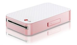 LG Pocket Photo PD221 Pink Mini Portable Photo Printer for Android Cell Phone