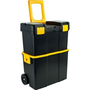 Mobile Rolling Tool Box Stackable Tools Toolbox Drawer Chest Storage Portable