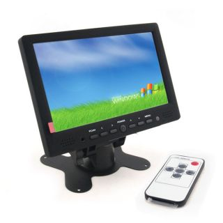 "7""Touch Screen Display HDMI 1080p RCA AV VGA TFT LCD Monitor for PC POS Car DVD"
