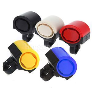 Electronic Bicycle Bike Cycling Alarm Bell Horn Siren Powered by 2X AAA Battery