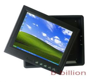 "8"" Headrest Reverse Display AV RCA VGA POS Touch Screen LED TFT LCD Monitor US"