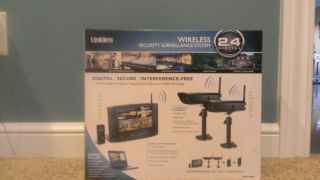 Uniden UDW20055 Wireless Security Camera System with Monitor