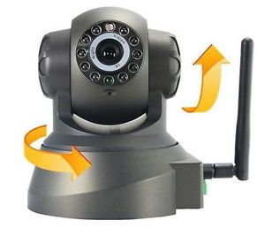 NR Wireless WiFi PTZ IP Network Security Surveillance Camera Webcam Preset DVR