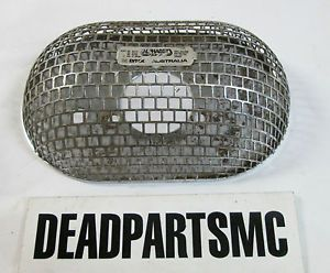 Harley s s Lynx Alphabet RAM Air Filter Cleaner Screen Oval