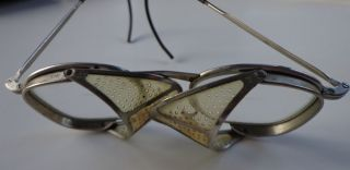 Vintage Industrial Biker Aviator Safety Goggles Glasses Steampunk Motorcycle