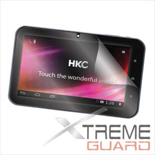 "XtremeGuard Screen Protector Skin for HKC 7"" Capacitive Multi Touch Tablet P771A"