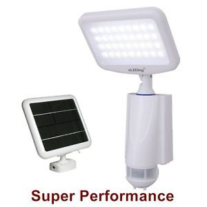Solar Powered Motion Activated 36 LED Smart Flood Light Pure Digital