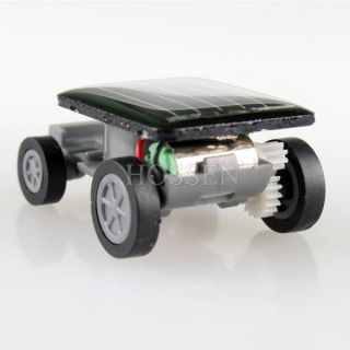 New Mini Lovely Solar Car Solar Powered Moving Racer Educational Toy