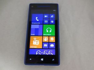 HTC Windows Phone 8x 16GB Blue Unlocked Smartphone Excellent Condition