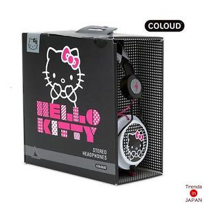 Hello Kitty Sanrio Coloud ZD Headphone Stereo Ear Comic Pop New Japan