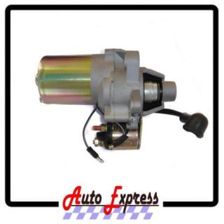 New Honda GX200 6 5HP Electric Start Kit Starter Motor Solinoid on Off Switch