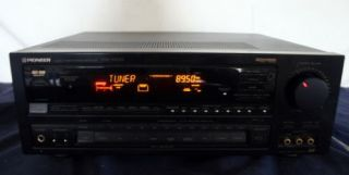 Pioneer VSX D701S Audio Video Stereo Receiver