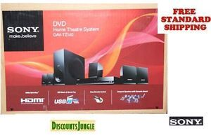 Sony Dav TZ140 5 1 CH Home Theater Surround Sound System with DVD Player