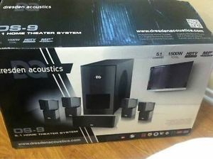 5 1 Home Theater Surround Sound System Dresden Acoustics