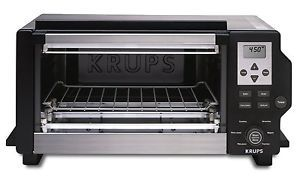 Krups FBC41350 Convection Toaster Oven 1600 Watt Stainless Steel
