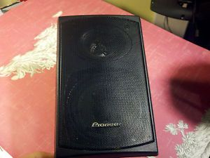 1 Pioneer Home Theater Surround Sound System Speaker s FCRW210 K